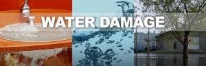 Water damage samples